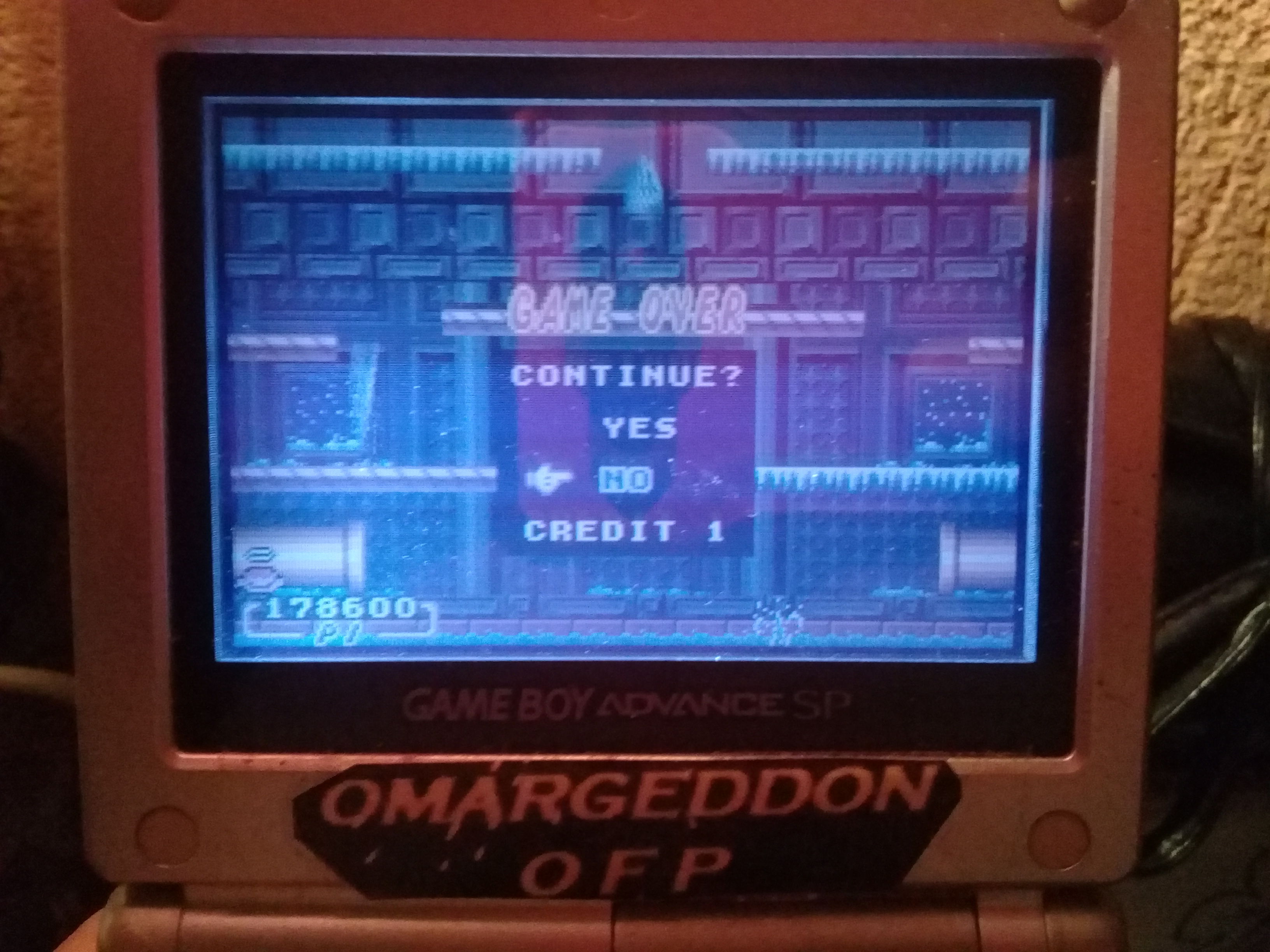 omargeddon: Super Mario Advance 2: Mario Bros (GBA) 178,600 points on 2019-10-11 21:42:47