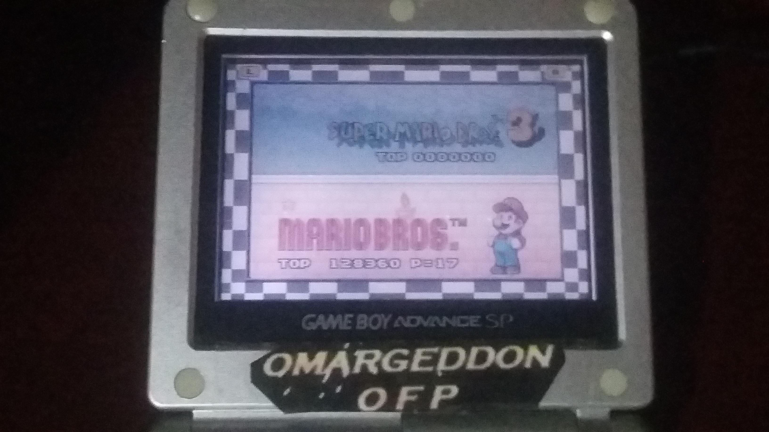 omargeddon: Super Mario Advance 4: Mario Bros. (GBA) 128,360 points on 2018-09-23 17:50:24