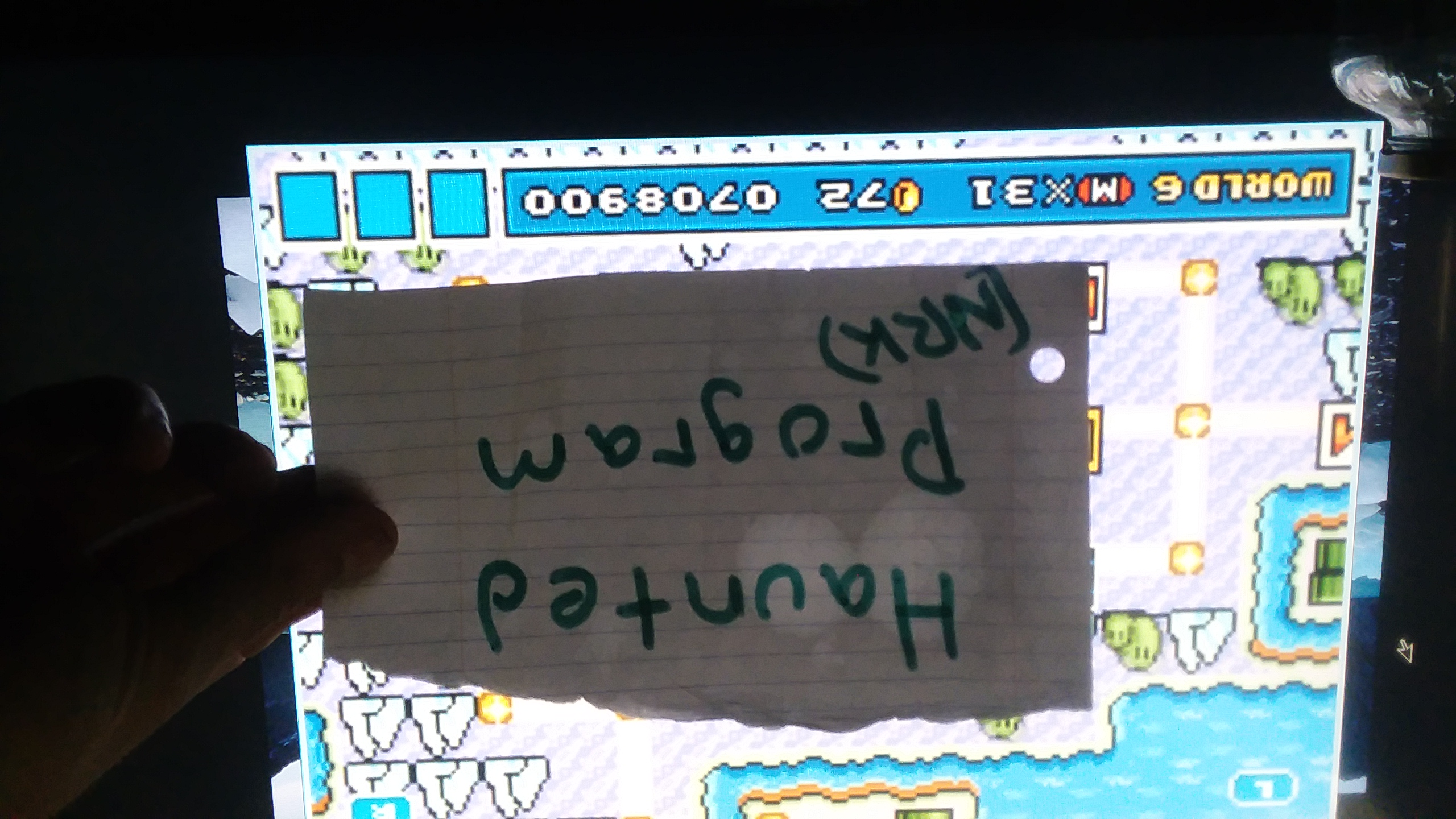 Super Mario Advance 4: Super Mario Bros. 3 708,900 points
