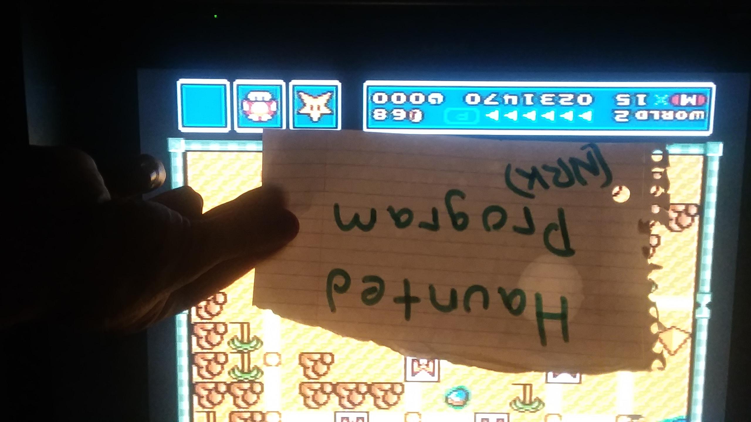Super Mario All-Stars: Super Mario Bros 3 [1 Life] 231,470 points