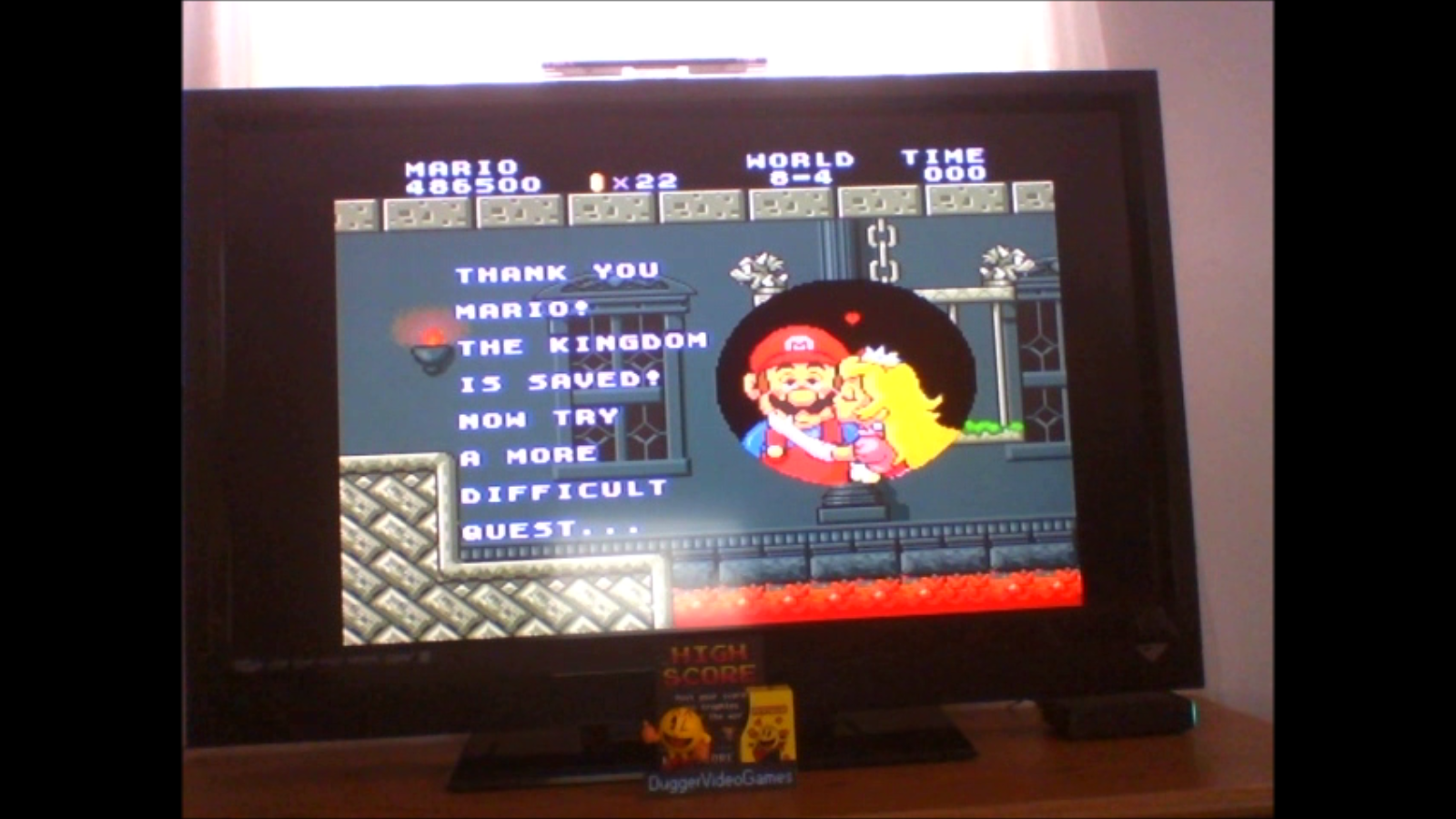 DuggerVideoGames: Super Mario All-Stars: Super Mario Bros (SNES/Super Famicom Emulated) 486,500 points on 2017-01-29 13:52:55