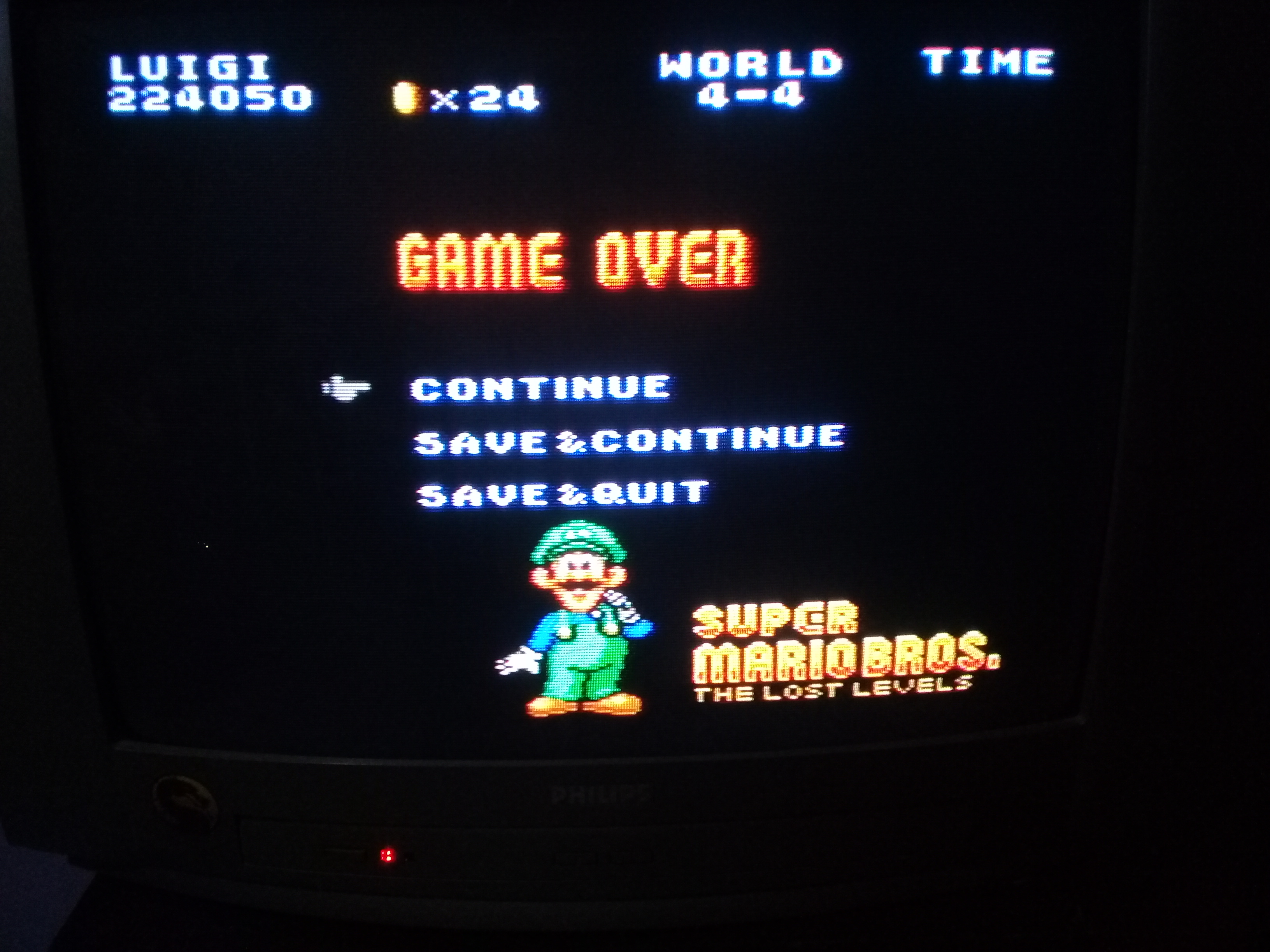 omargeddon: Super Mario All-Stars: Super Mario Bros: The Lost Levels (SNES/Super Famicom) 224,050 points on 2020-05-06 20:56:07