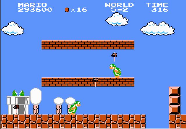 Liduario: Super Mario Bros. [1 Life] (NES/Famicom Emulated) 293,600 points on 2015-11-14 07:10:31