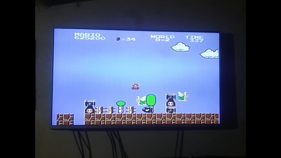 Super Mario Bros. [1 Life] 625,200 points