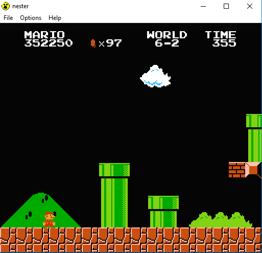 JES: Super Mario Bros. [1 Life] (NES/Famicom Emulated) 352,250 points on 2017-03-06 02:28:47