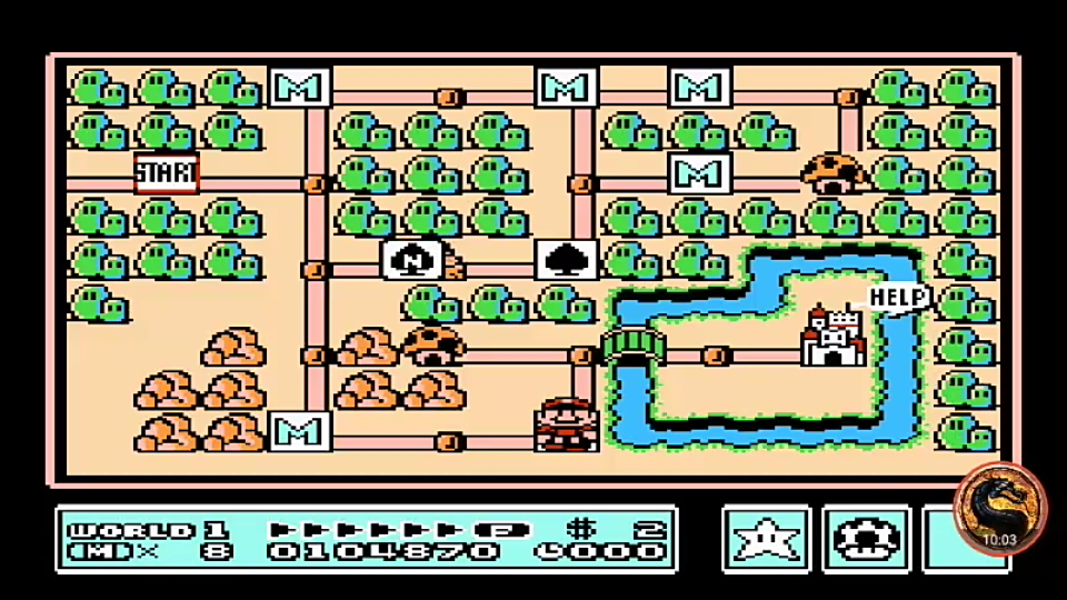 omargeddon: Super Mario Bros 3 [10 Minute Time Limit] (NES/Famicom Emulated) 104,870 points on 2019-07-15 01:17:53