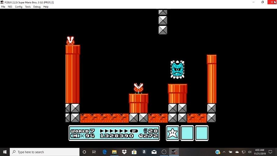 Super Mario Bros 3 Nes Famicom Emulated High Score By Trivia212005