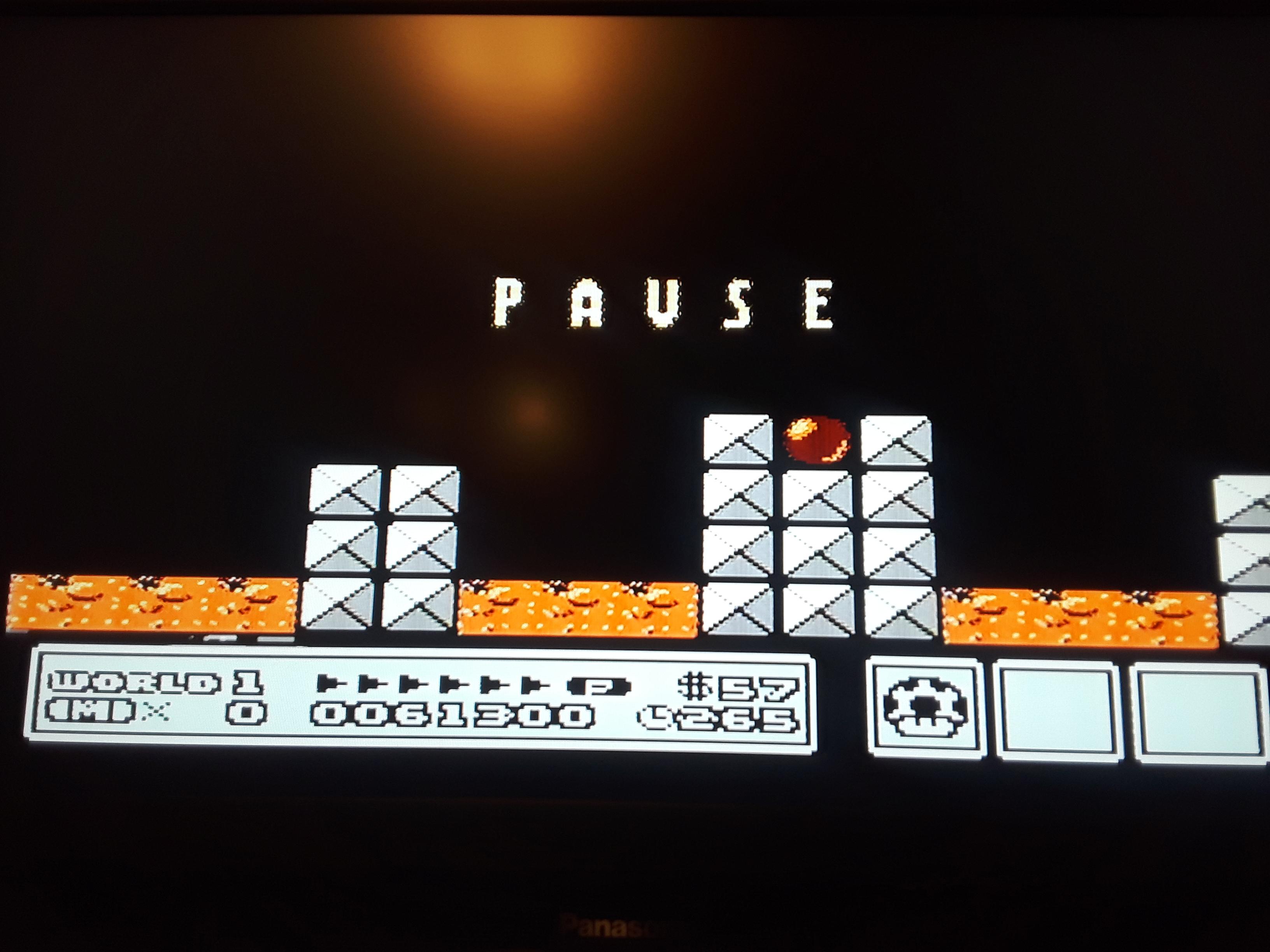 Super Mario Bros. 3 [No Farming] 61,300 points