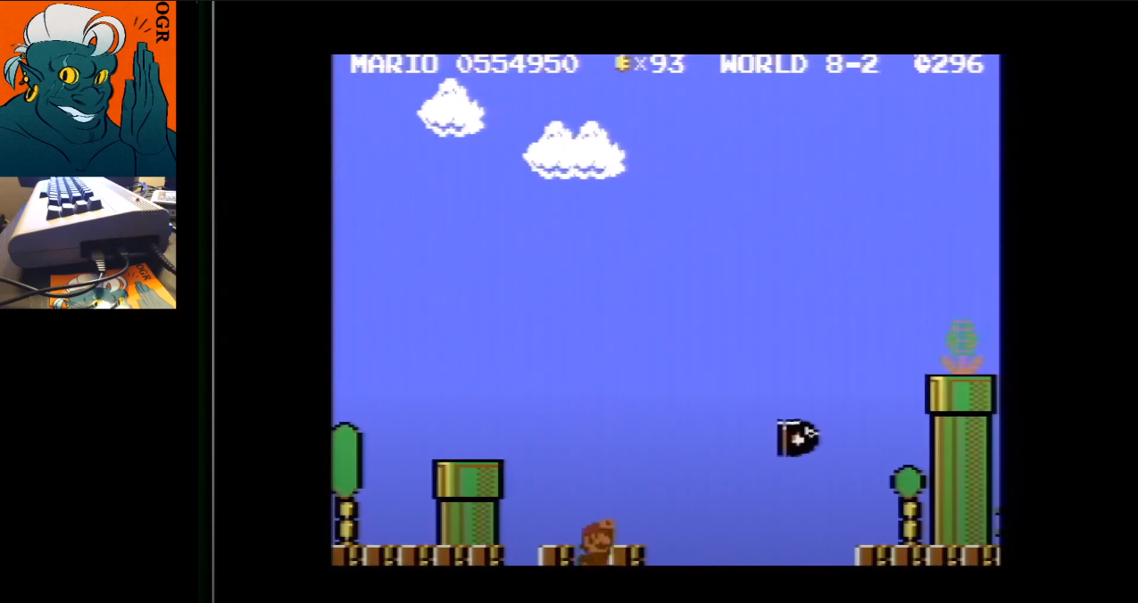 AwesomeOgre: Super Mario Bros. 64 [1 Life] (Commodore 64) 554,950 points on 2020-05-15 16:41:54