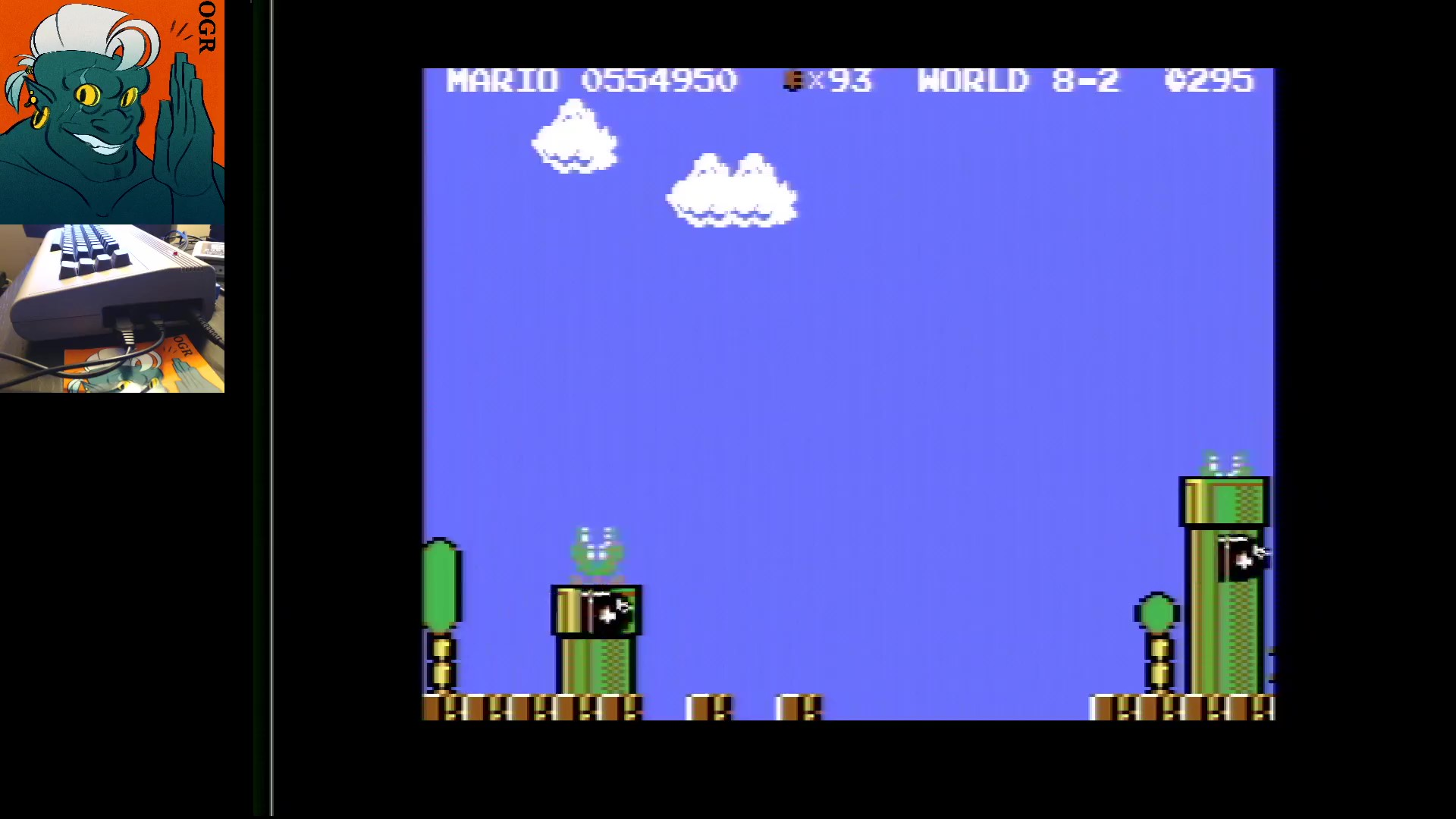 AwesomeOgre: Super Mario Bros. 64 (Commodore 64) 554,950 points on 2020-05-14 00:03:36