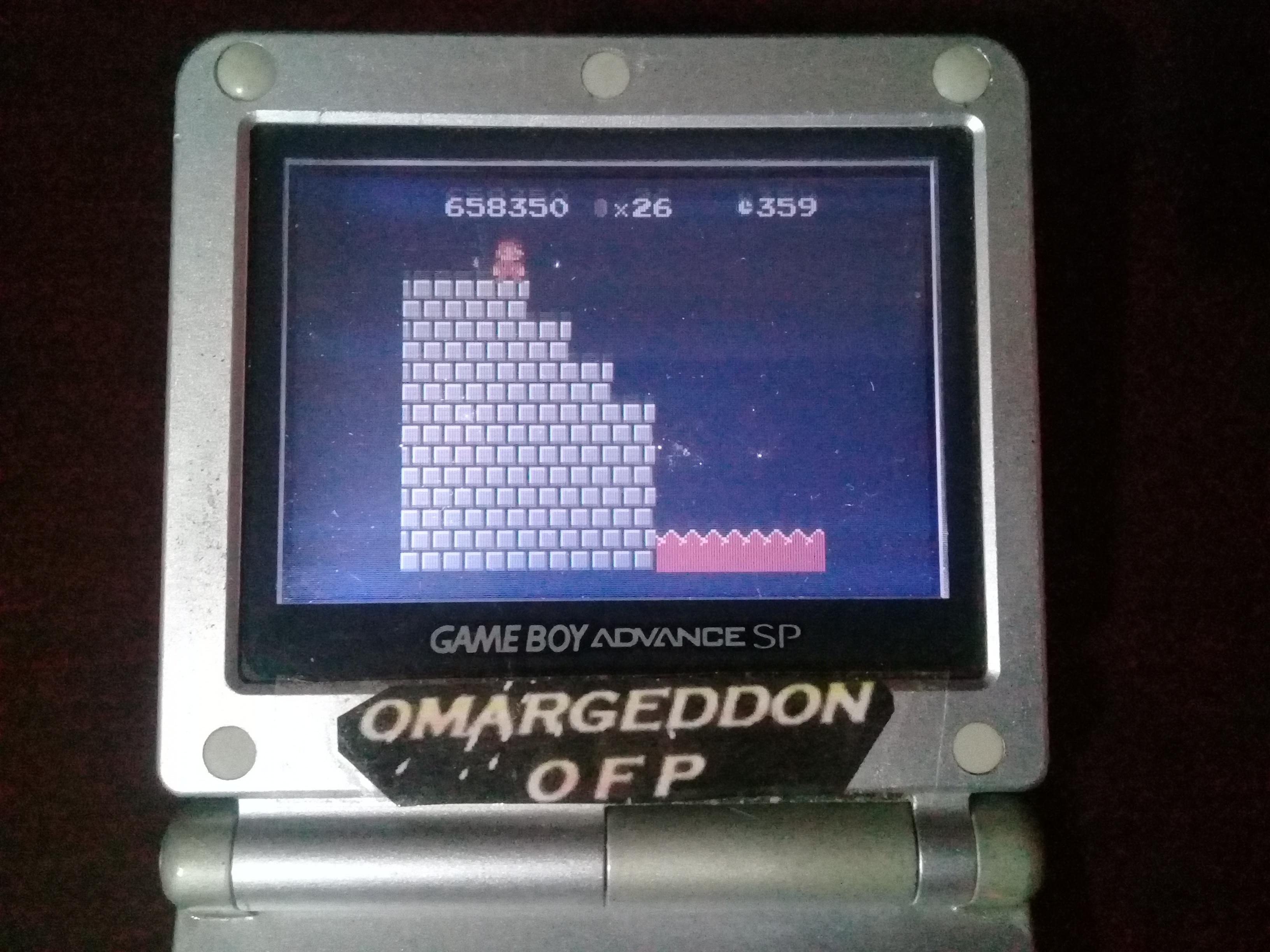 Super Mario Bros Deluxe Game Boy Color High Score By Omargeddon
