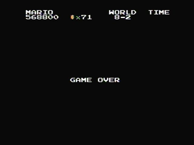 derek: Super Mario Bros. (NES/Famicom) 568,800 points on 2017-02-27 14:08:04