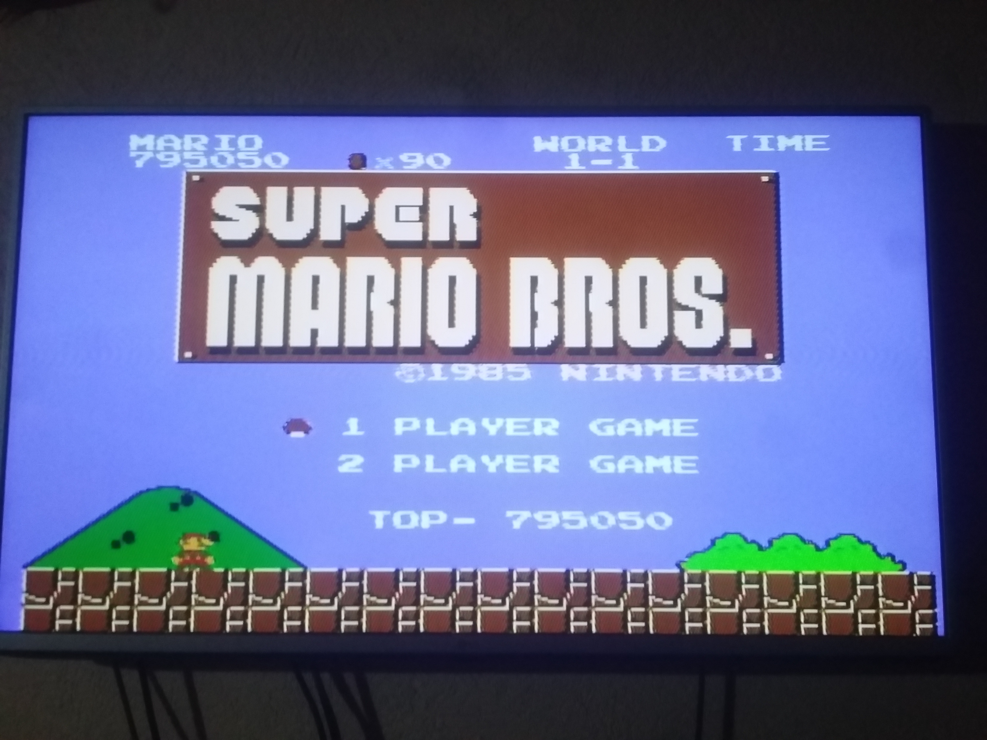Super Mario Bros. 795,050 points