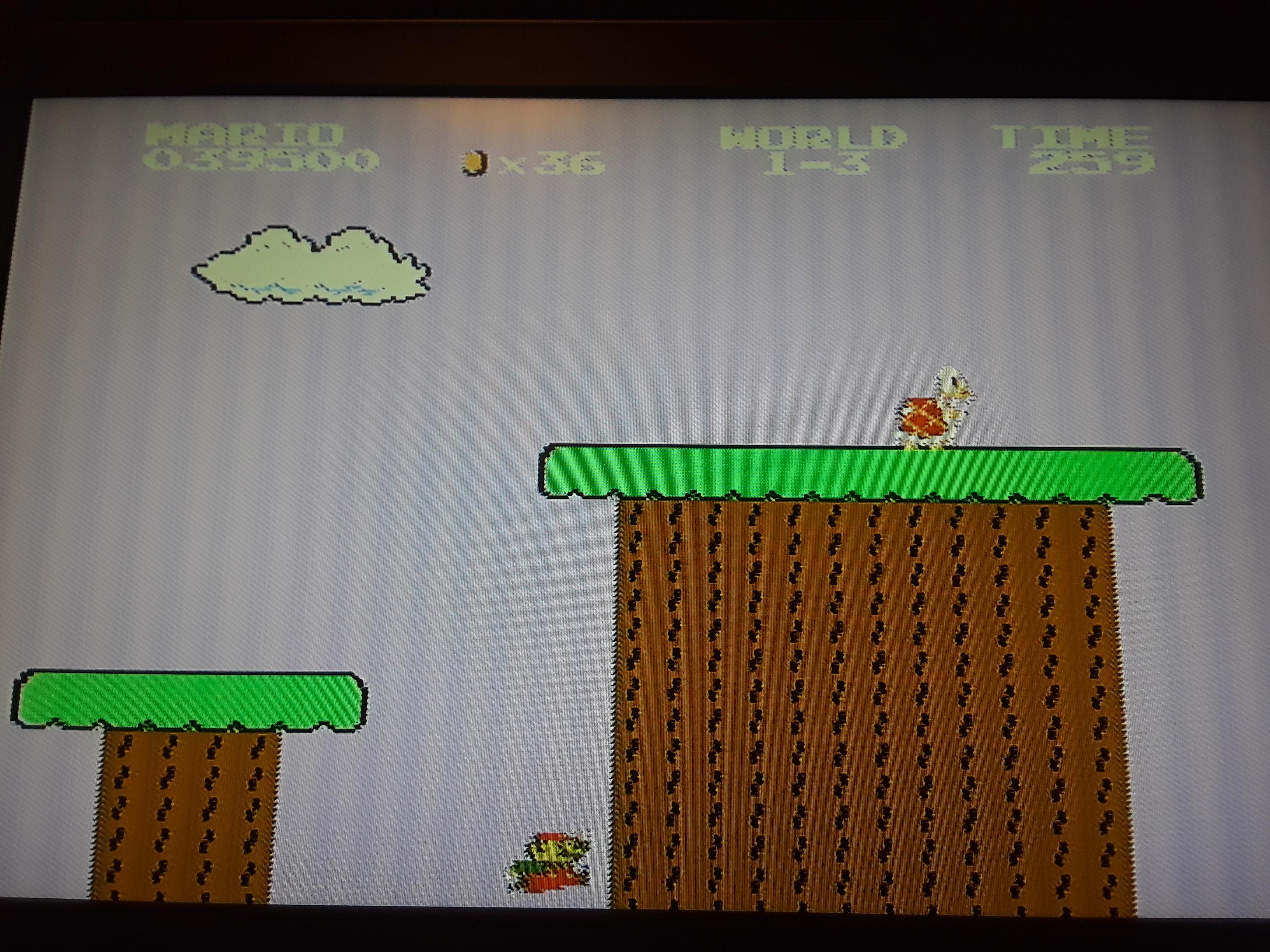 Super Mario Bros. 39,500 points