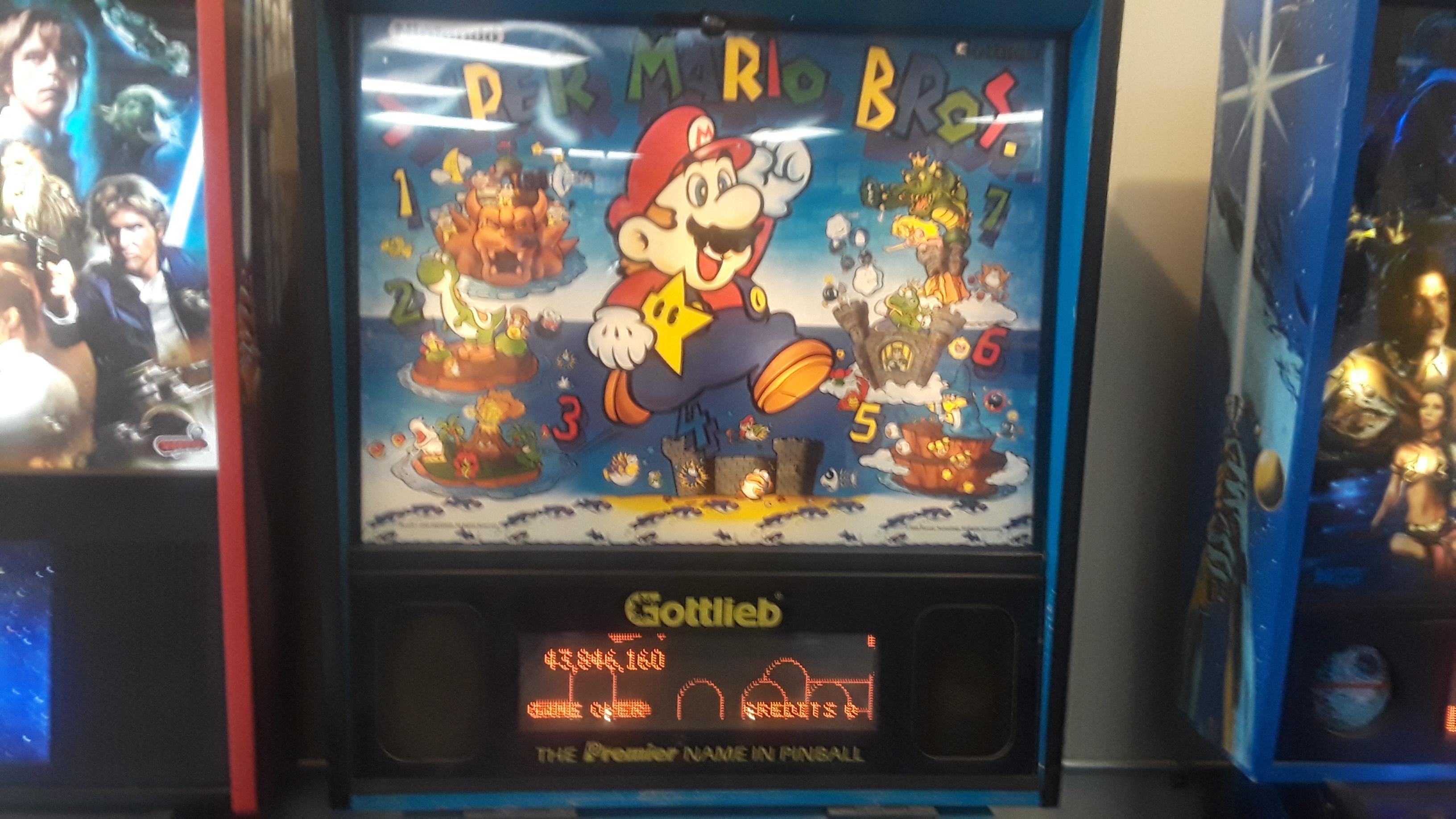 JML101582: Super Mario Bros. (Pinball: 3 Balls) 43,846,160 points on 2019-08-10 17:39:47