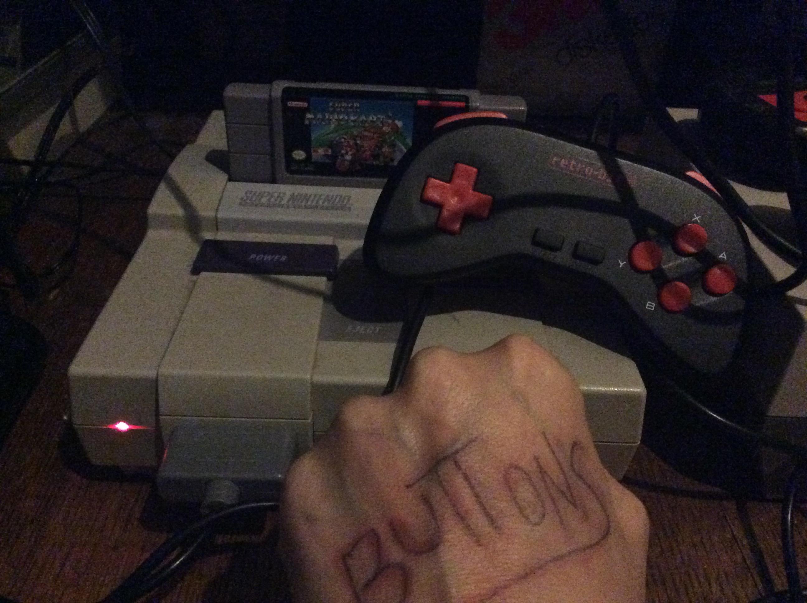 Super Mario Kart: Bowser Castle 1 [50cc] [Lap Time] time of 0:00:22.36