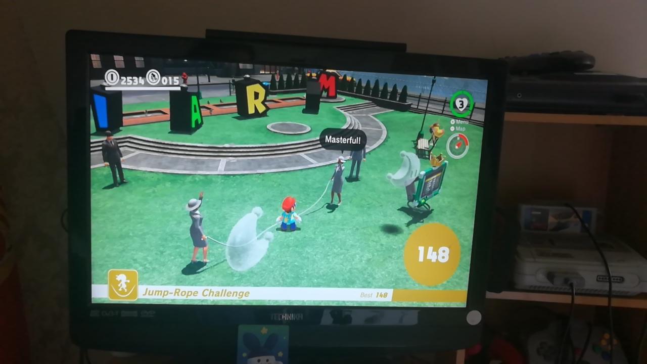 Mimitchi: Super Mario Odyssey: Jump-Rope Challenge (Nintendo Switch) 148 points on 2020-03-18 06:55:07