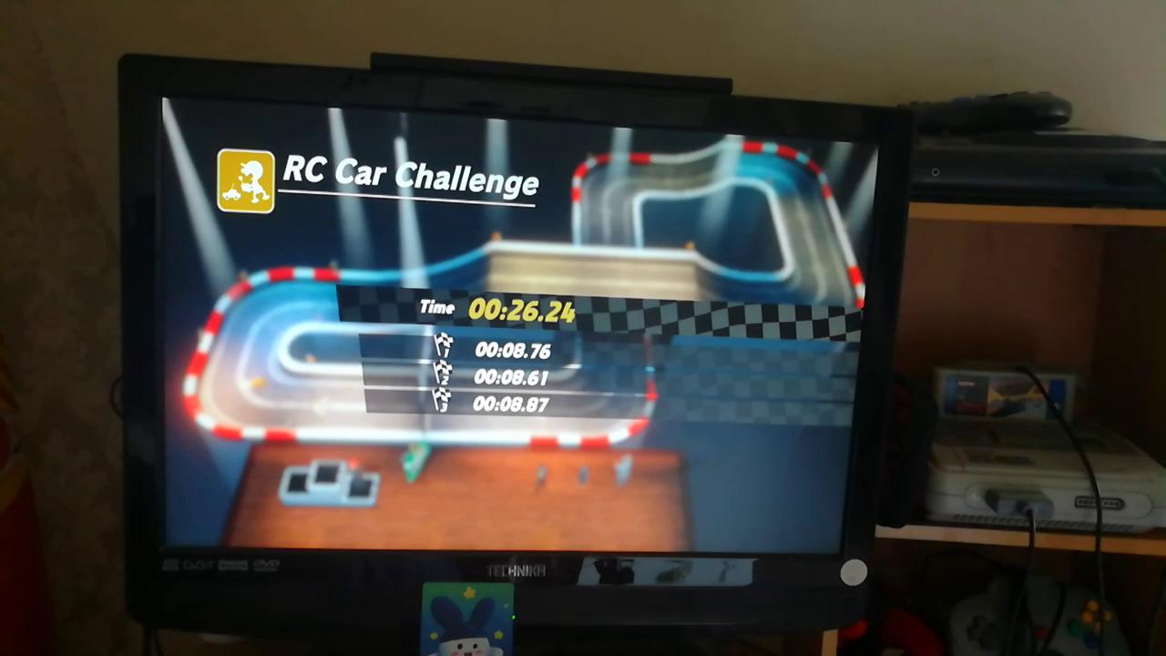 Mimitchi: Super Mario Odyssey: RC Car Challenge [Best Lap] (Nintendo Switch) 0:00:08.61 points on 2020-05-08 13:03:54
