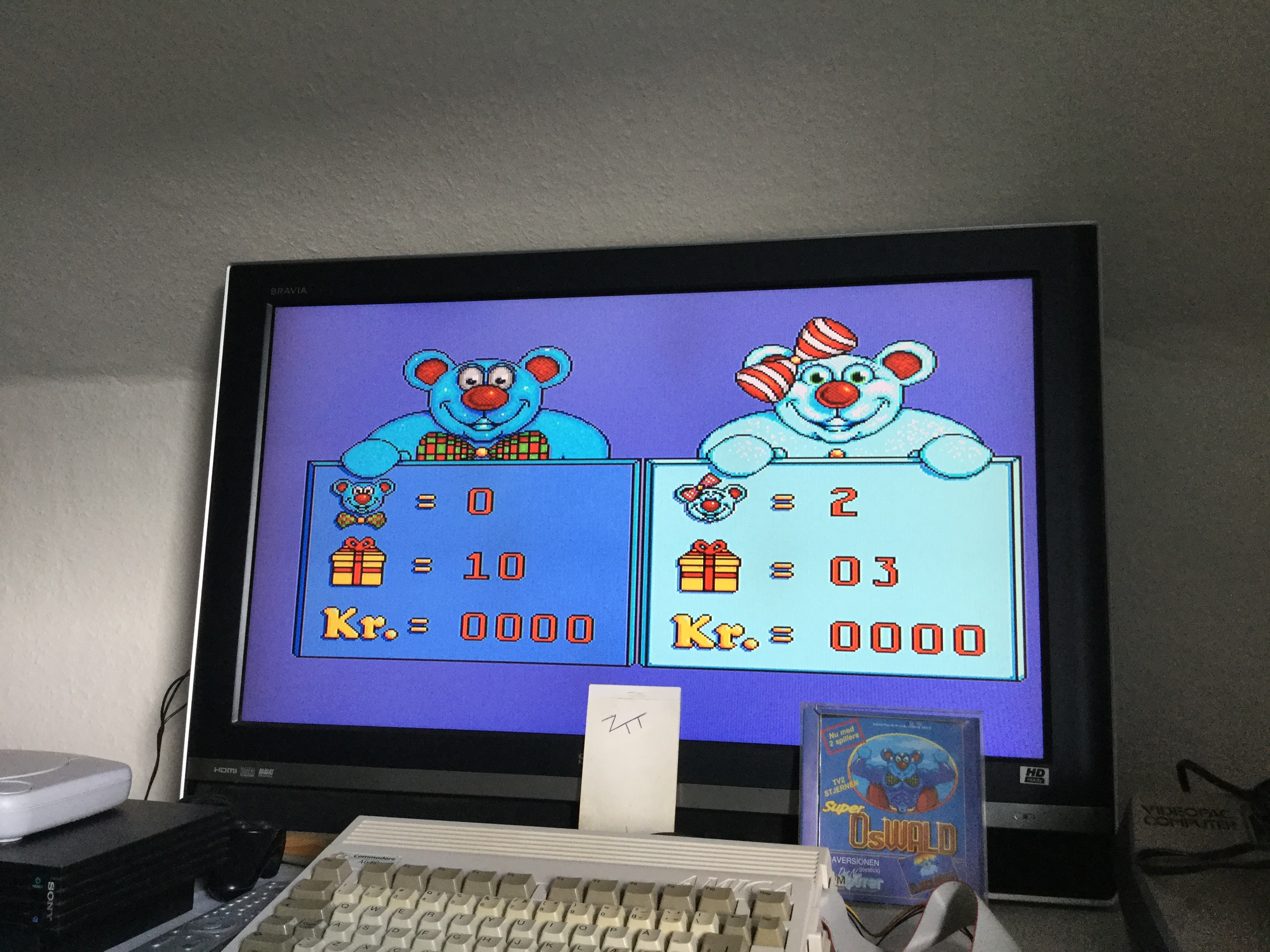 Frankie: Super Oswald [Lives Left * 1000] + Gifts + Kr] (Amiga) 10 points on 2020-03-08 01:45:28