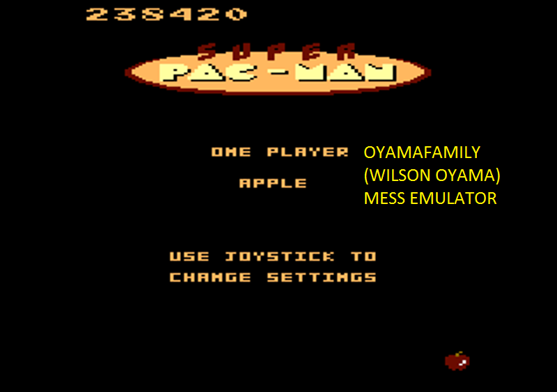 oyamafamily: Super Pac-Man [Apple/3 Lives] (Atari 7800 Emulated) 238,420 points on 2016-03-01 16:51:53