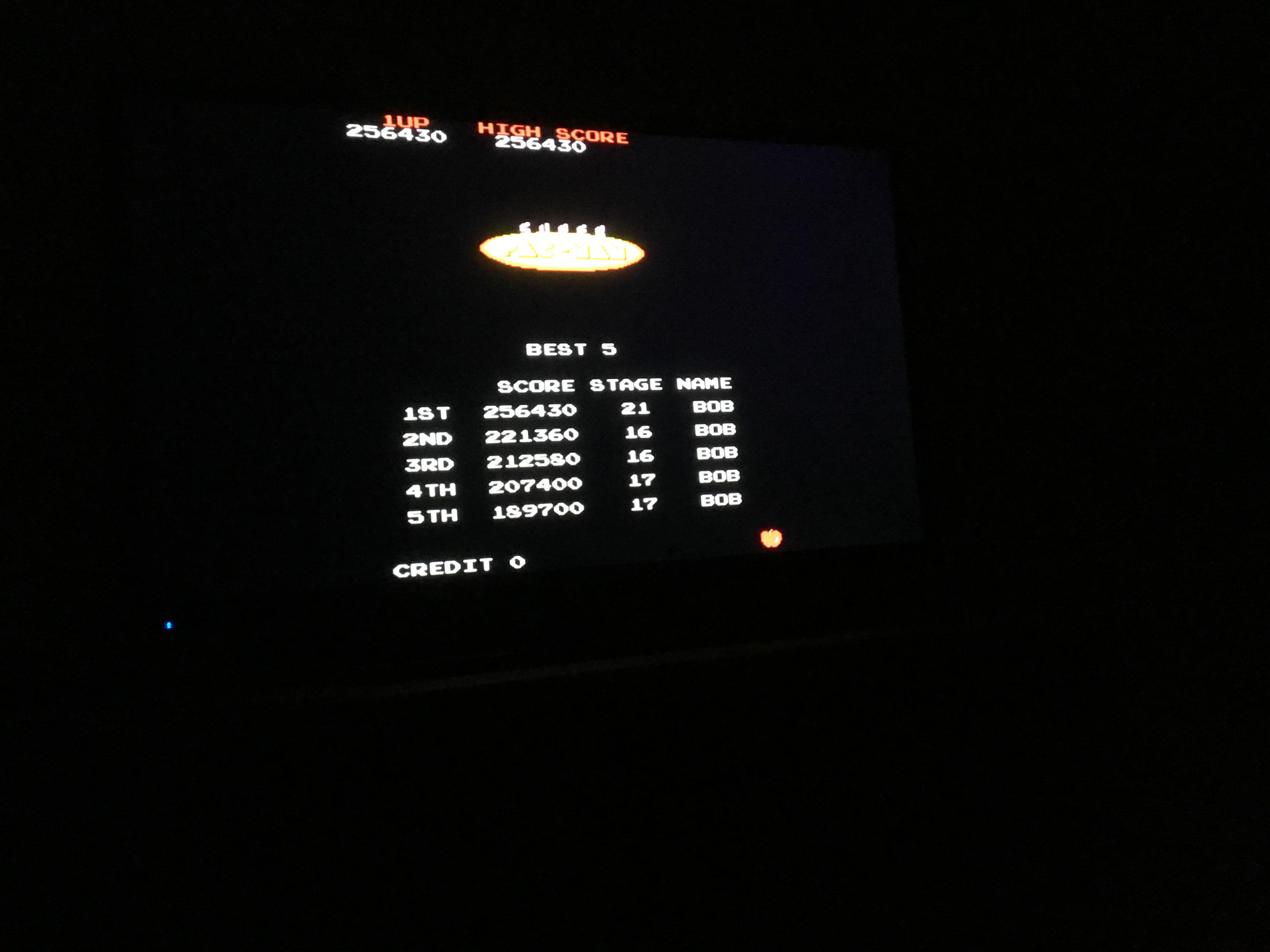 Super Pac-Man 256,430 points