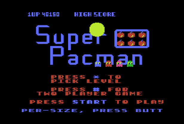 S.BAZ: Super Pac-Man (Atari 5200 Emulated) 46,150 points on 2019-08-15 20:00:29