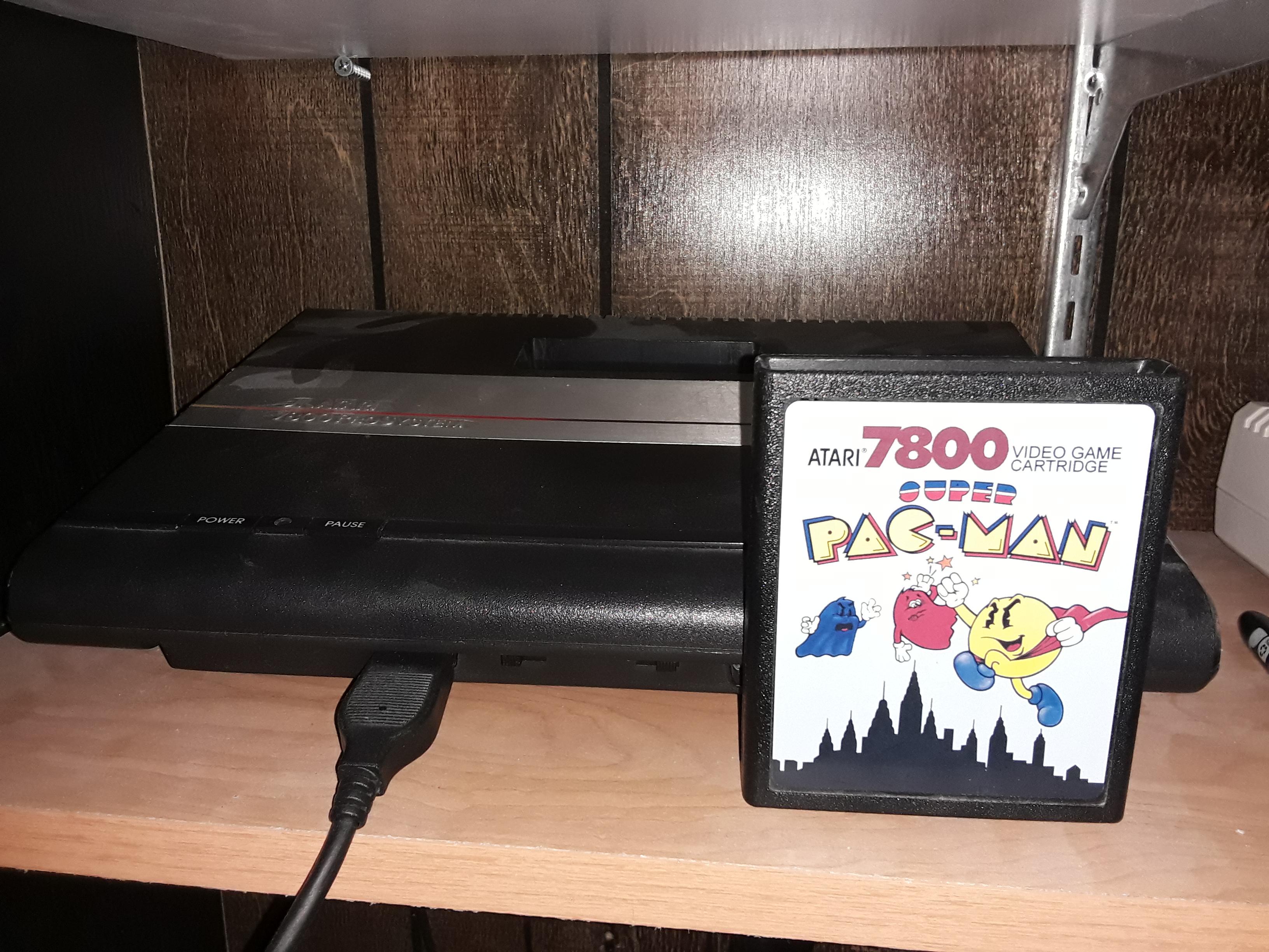 Super Pac-Man 176,250 points