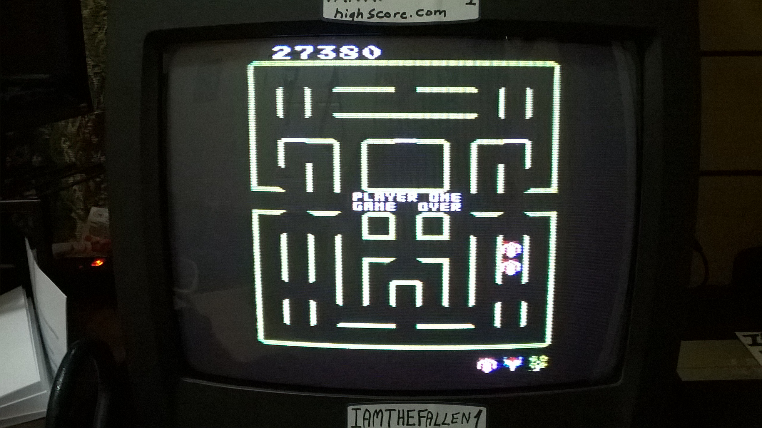 iamthefallen1: Super Pac-Man: Clover Start (Atari 7800) 27,380 points on 2018-02-21 20:15:15
