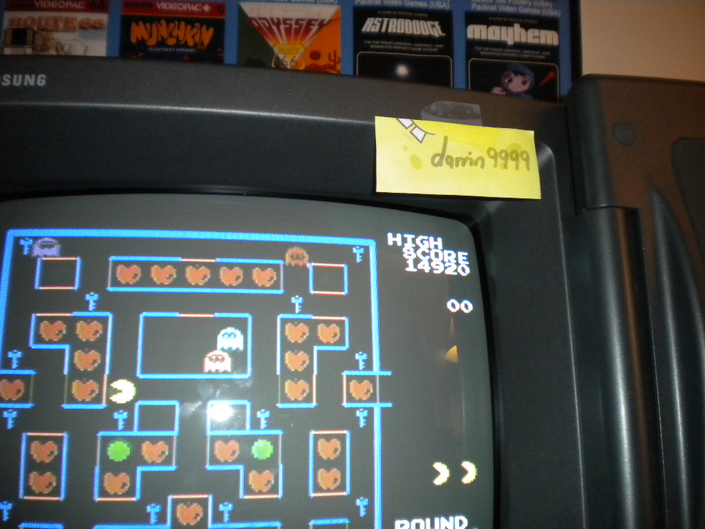 Super Pac-Man 14,920 points