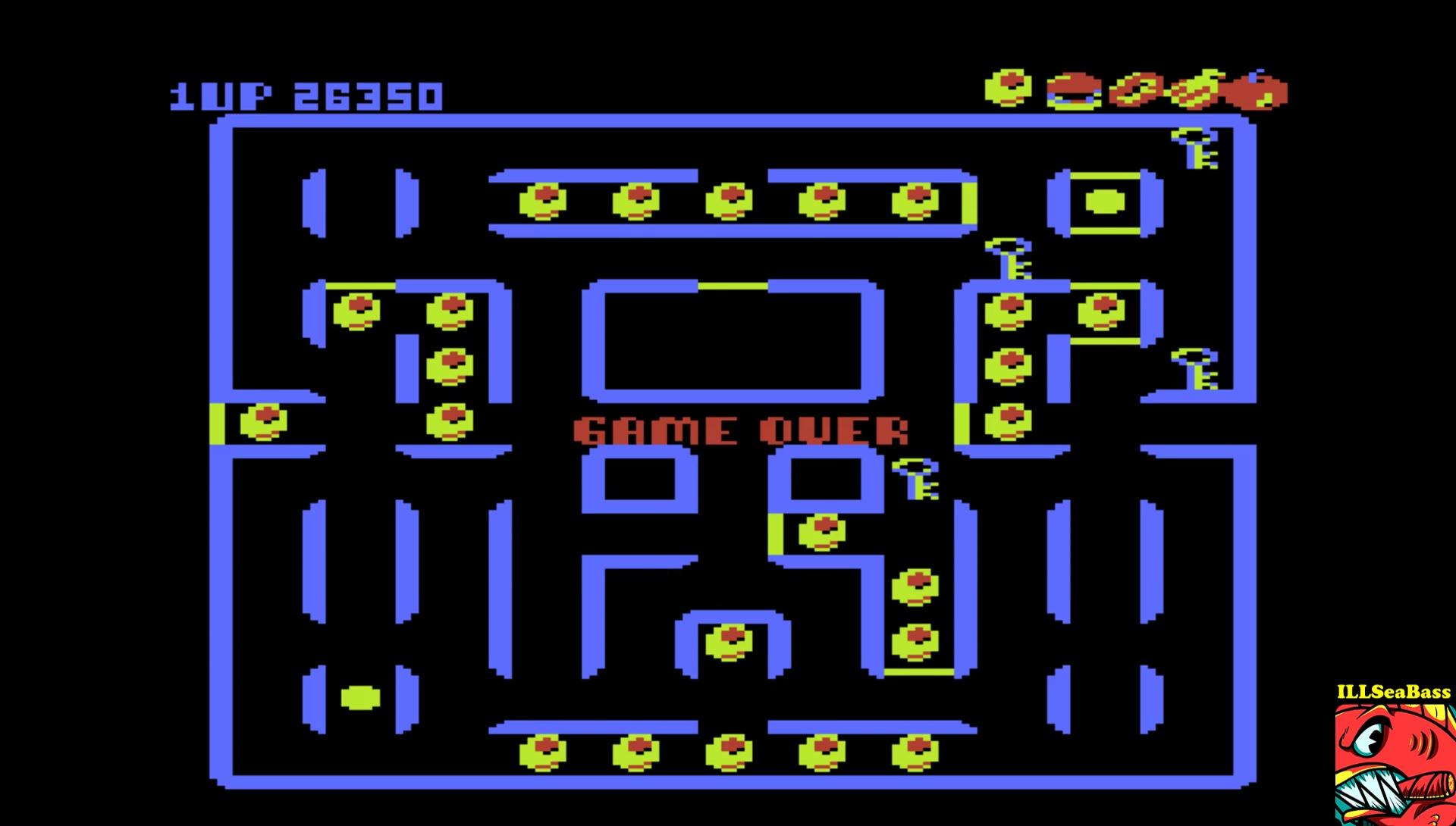 Super Pacman [Default settings] 26,350 points