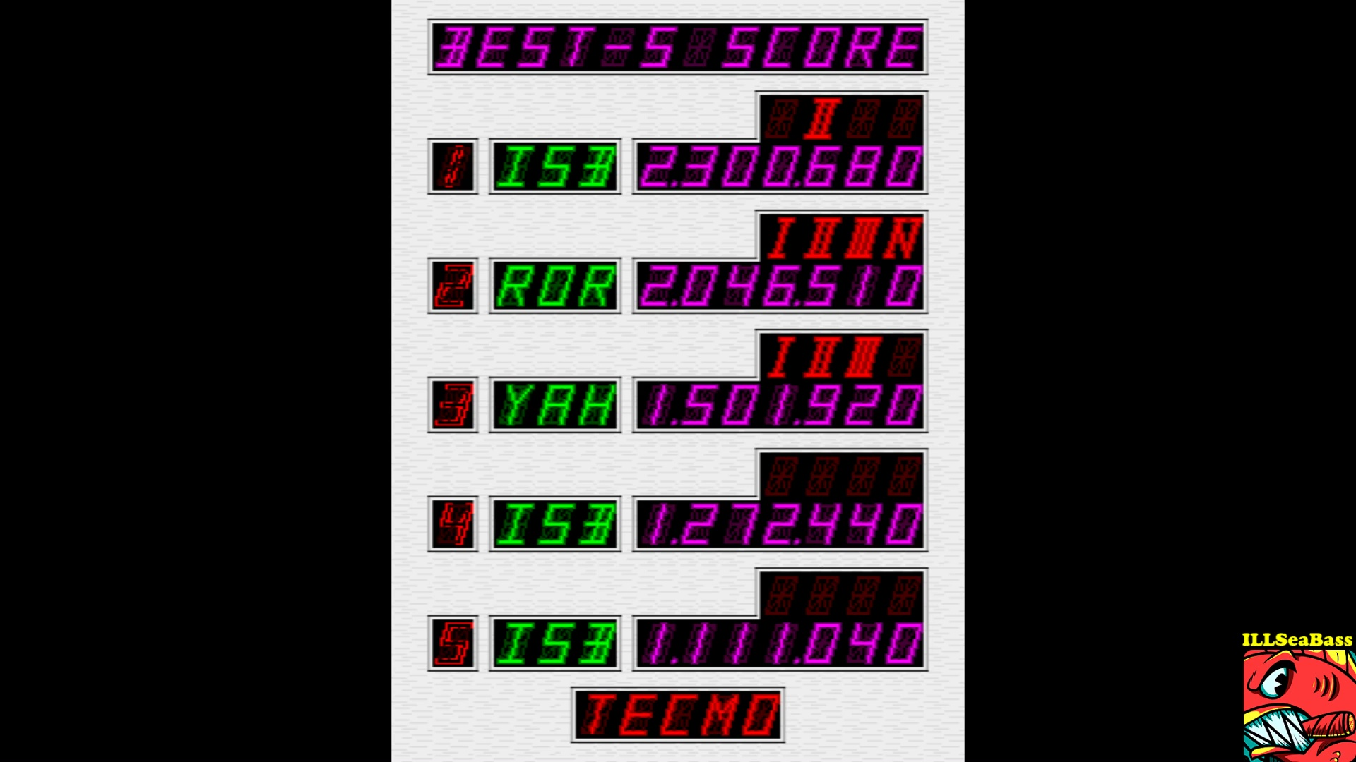 ILLSeaBass: Super Pinball Action [spbactn] (Arcade Emulated / M.A.M.E.) 2,300,680 points on 2017-10-01 20:40:29
