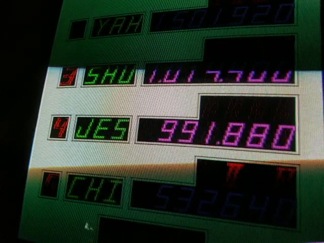 Super Pinball Action [spbactn] 991,880 points