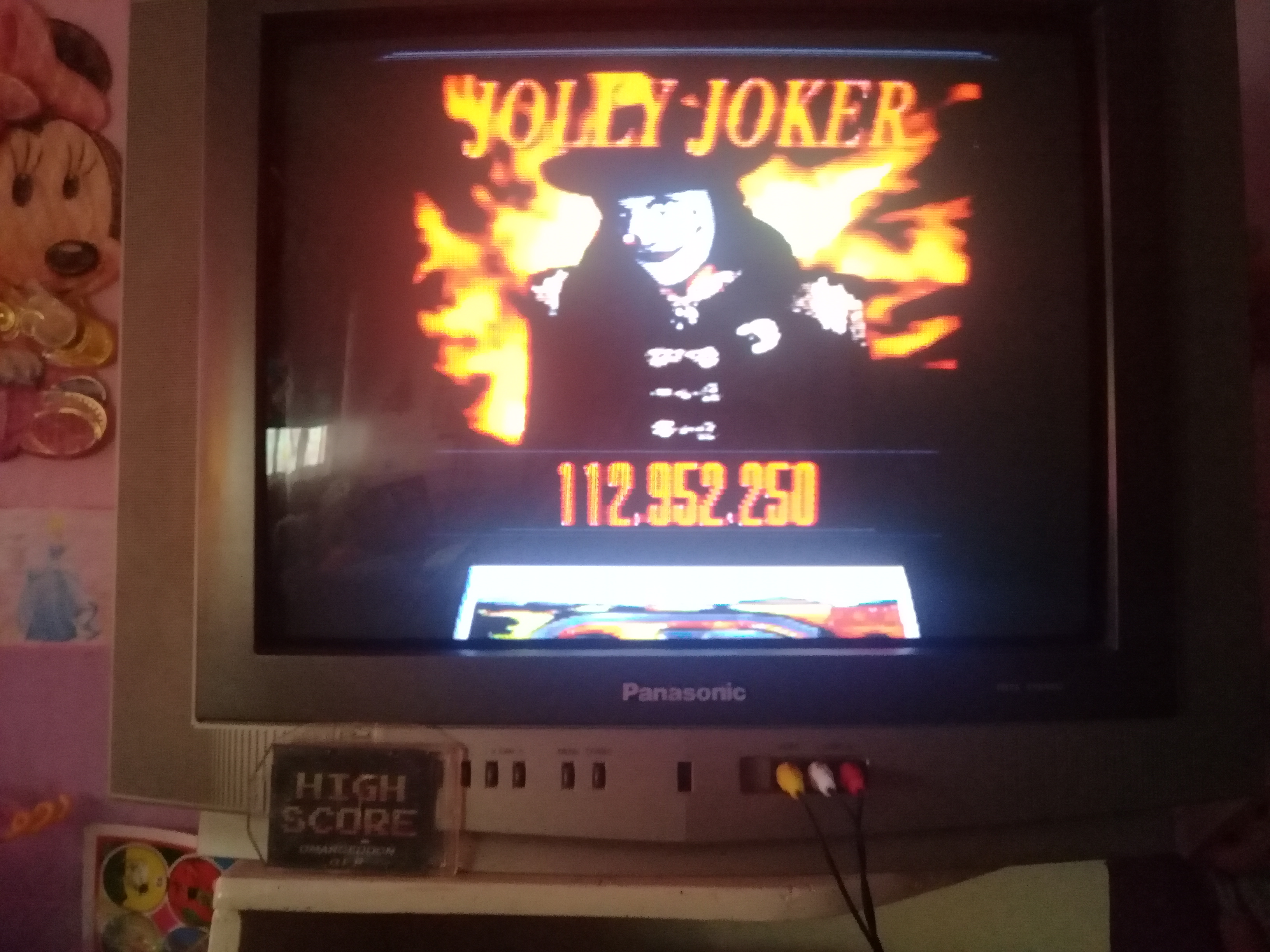 omargeddon: Super Pinball: Behind The Mask: Jolly Joker (SNES/Super Famicom) 112,952,250 points on 2019-07-07 18:22:02