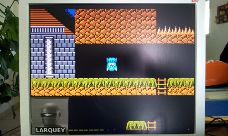 Larquey: Super Pitfall (NES/Famicom Emulated) 34,000 points on 2017-04-19 13:19:16