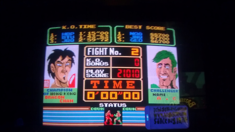 Super Punch-Out!! 21,010 points