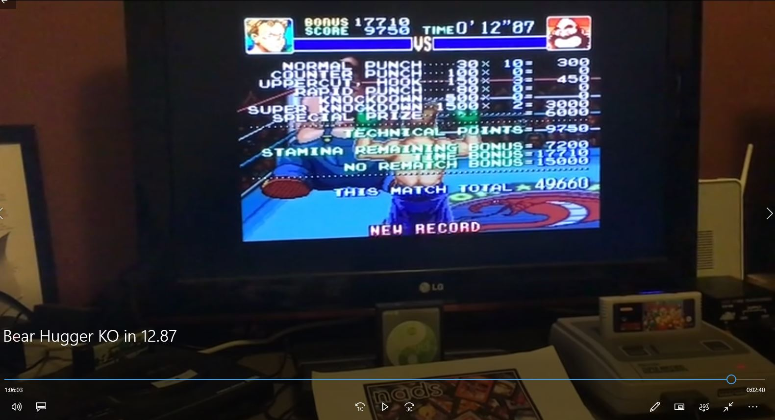 nads: Super Punch-Out!! [Bear Hugger] (SNES/Super Famicom) 49,660 points on 2019-08-13 05:41:07