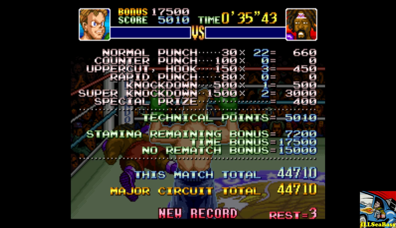 Super Punch-Out!! [Bob Charlie] 44,710 points