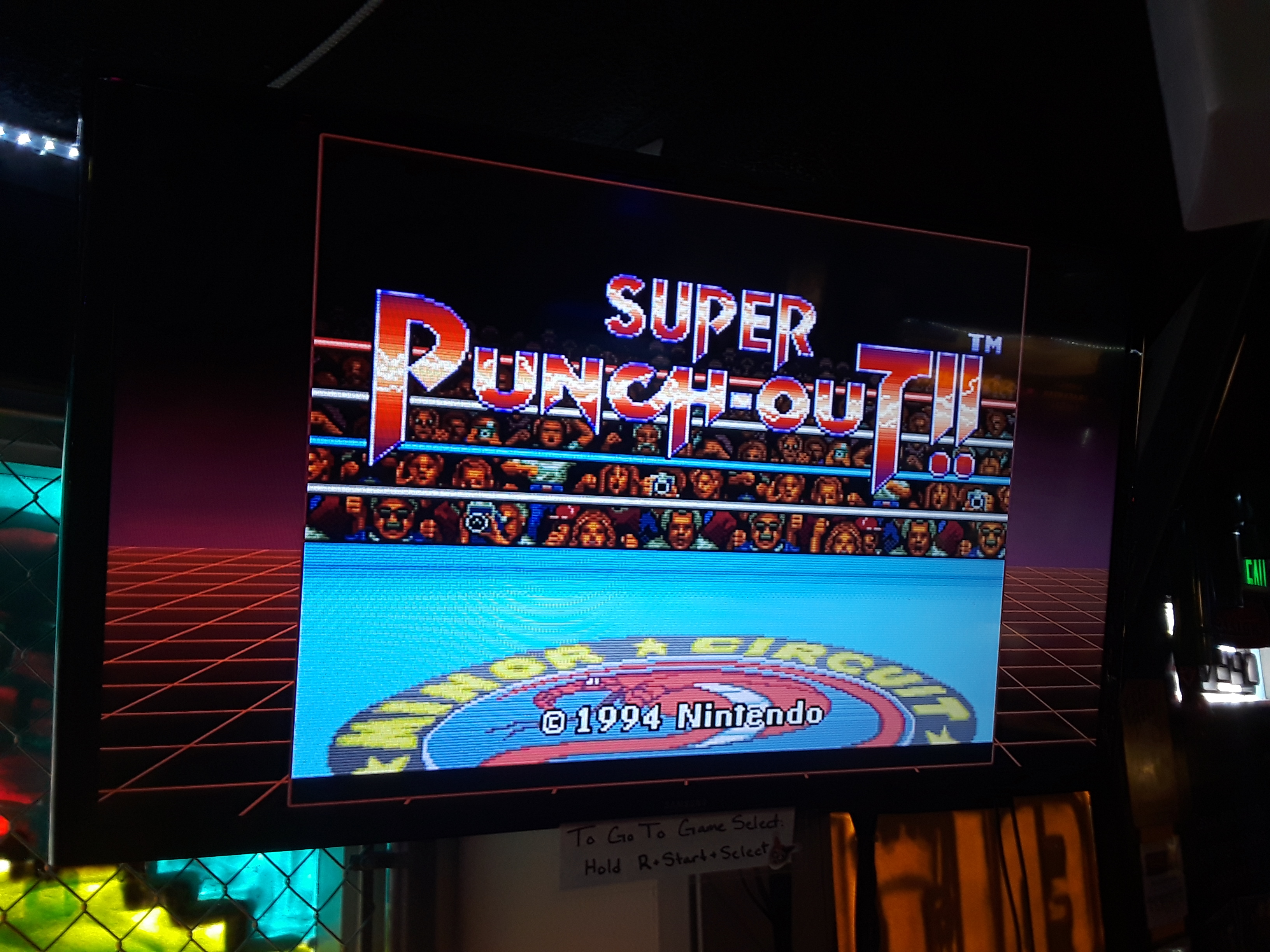 Super Punch-Out!! [Gabby Jay] 36,460 points