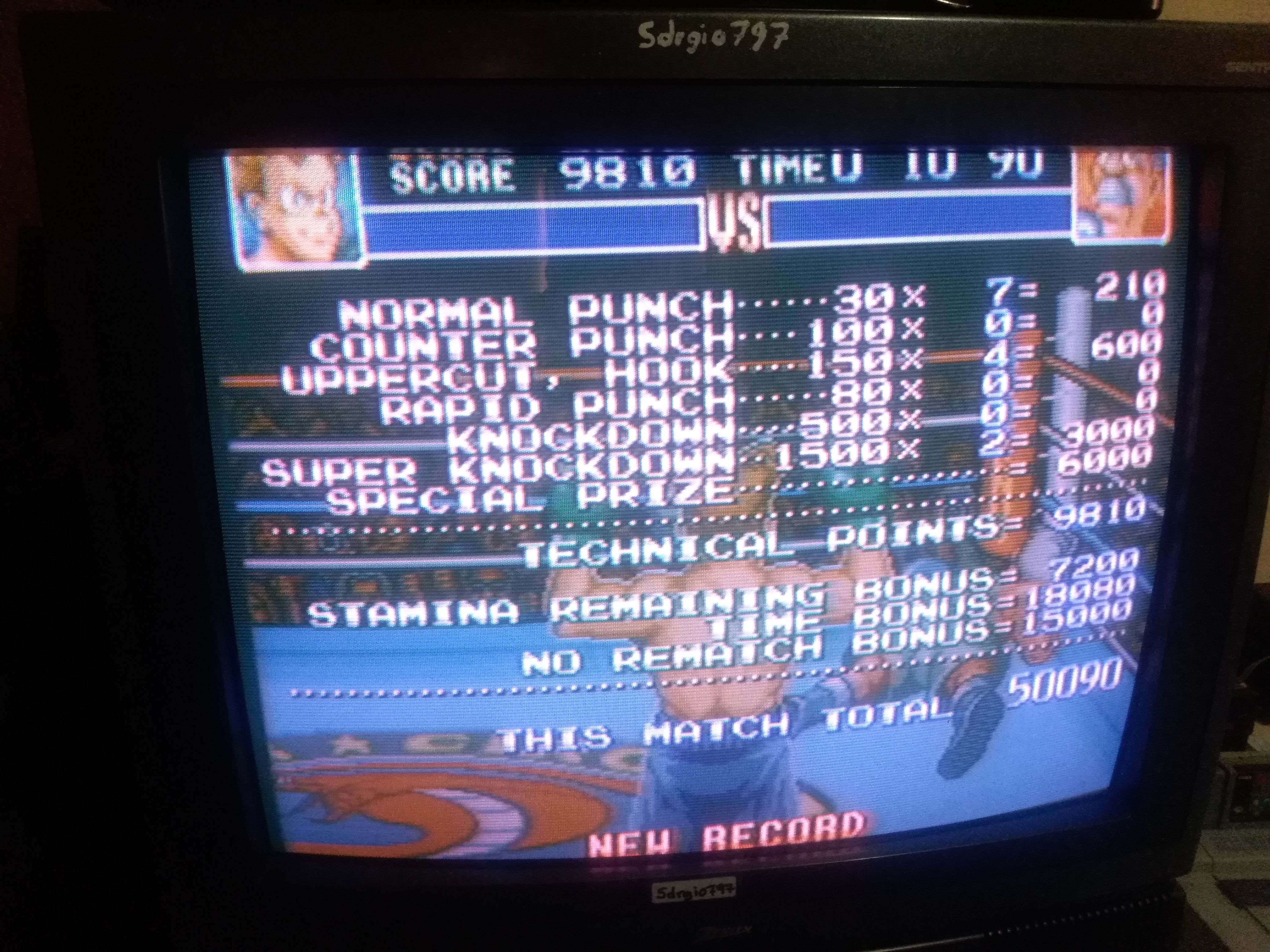 Sdrgio797: Super Punch-Out!! [Gabby Jay] (SNES/Super Famicom) 50,090 points on 2020-07-06 13:33:26