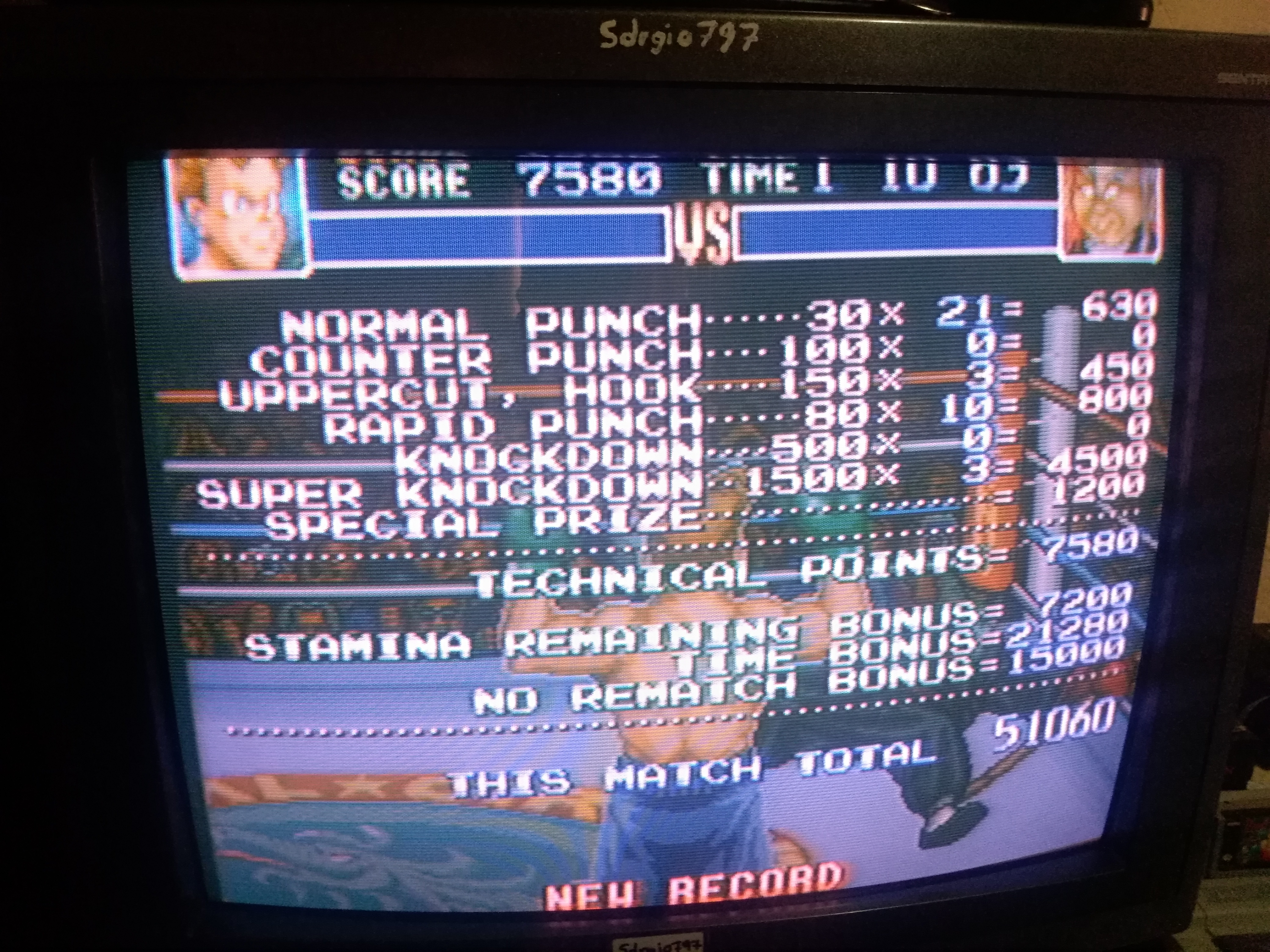 Super Punch-Out!! [Hoy Quarlow] 51,060 points