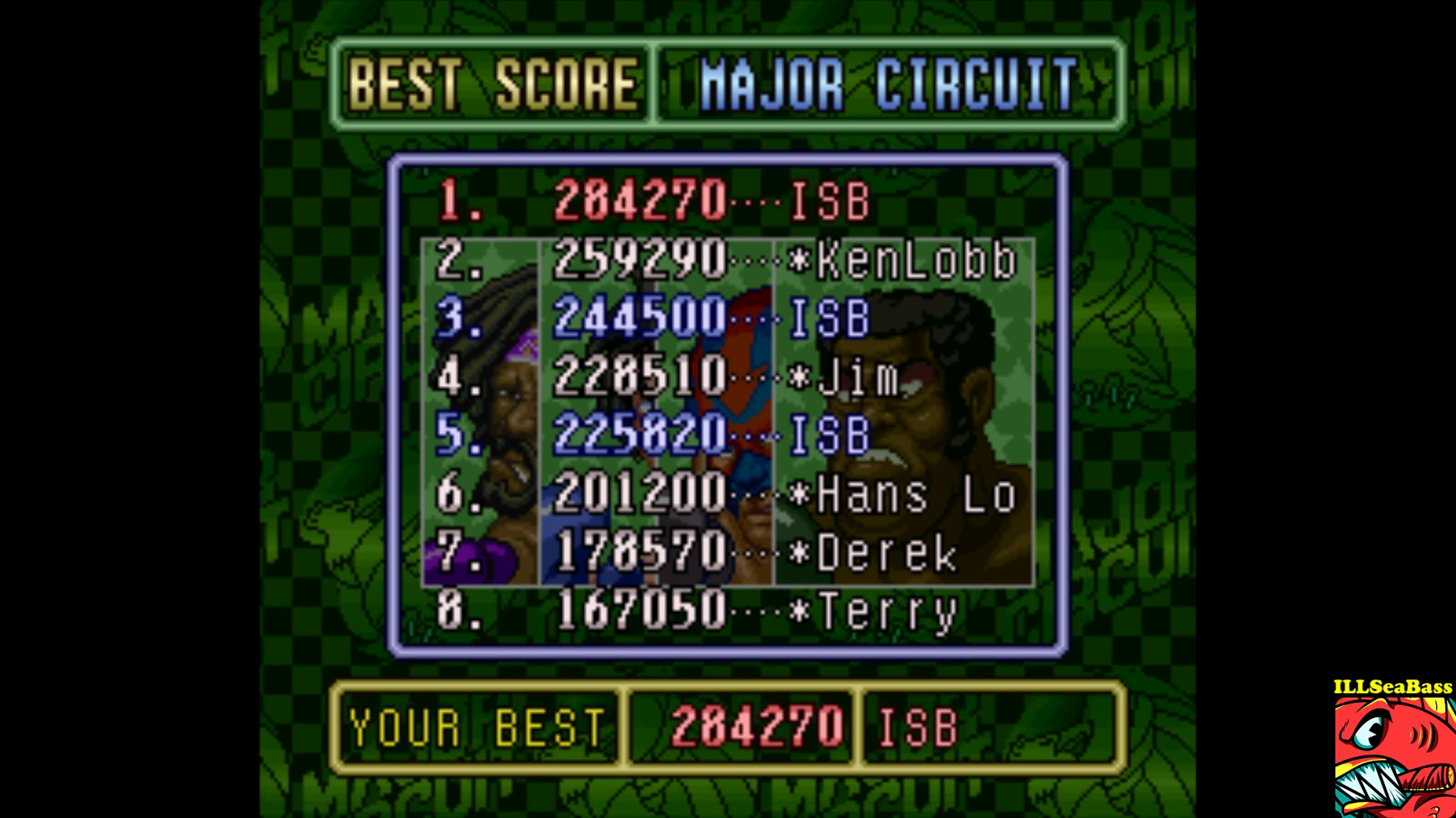 ILLSeaBass: Super Punch-Out!! [Major Circuit] (SNES/Super Famicom Emulated) 284,270 points on 2017-09-15 19:11:57