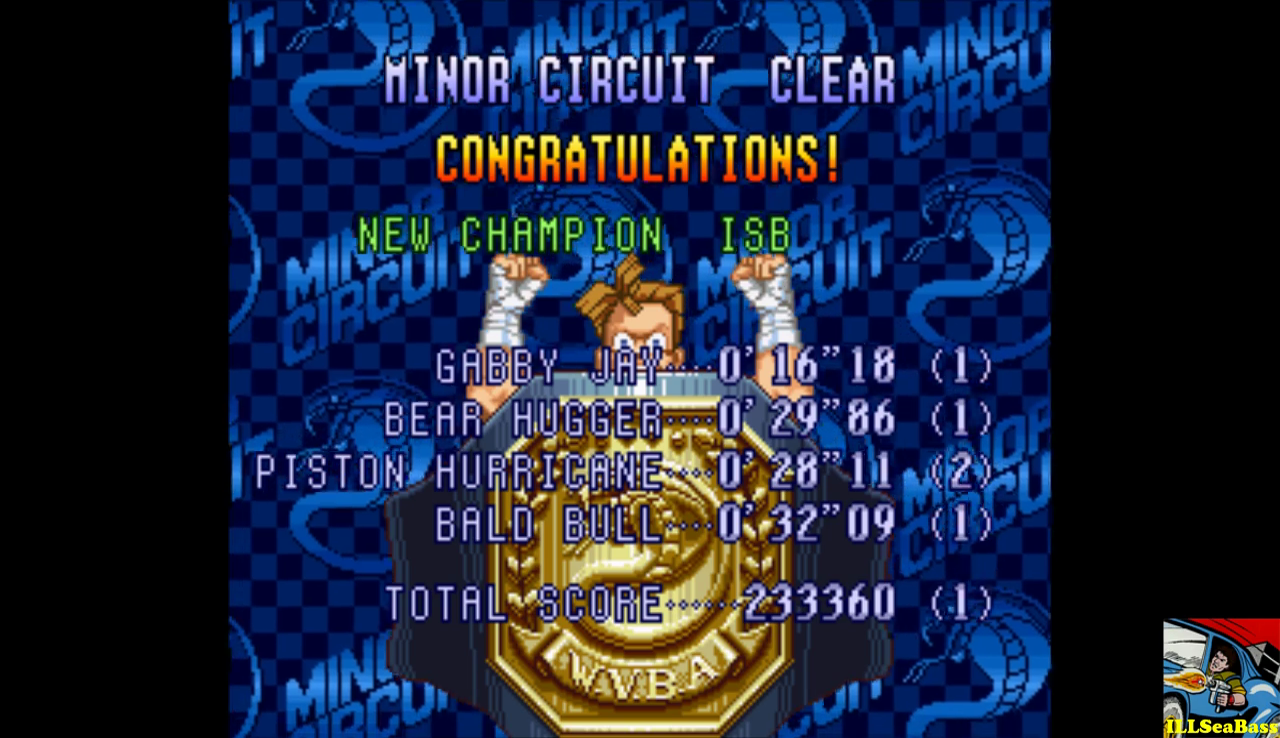 Super Punch-Out!! [Minor Circuit] 233,360 points