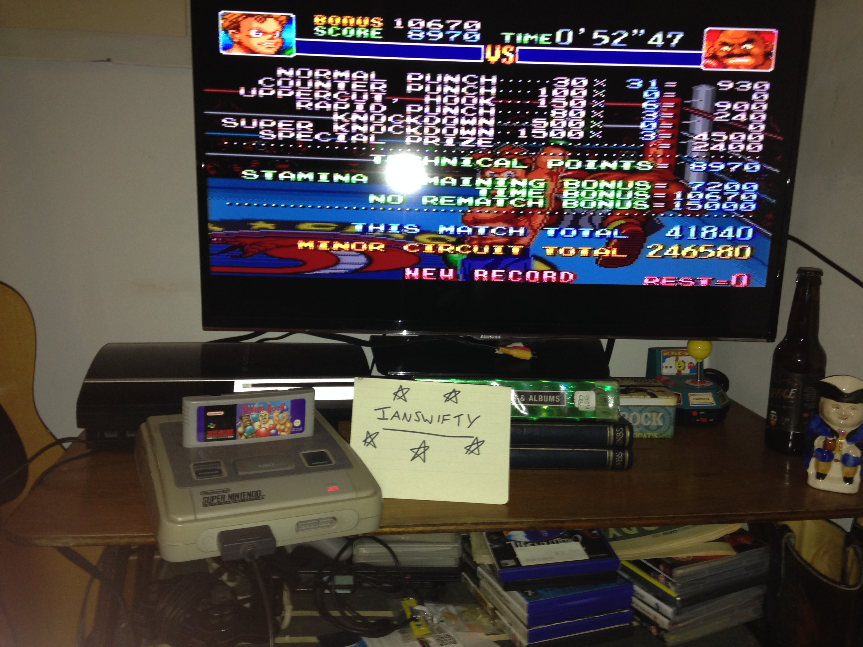 Ianswifty: Super Punch-Out!! [Minor Circuit] (SNES/Super Famicom) 246,580 points on 2017-01-05 13:28:19