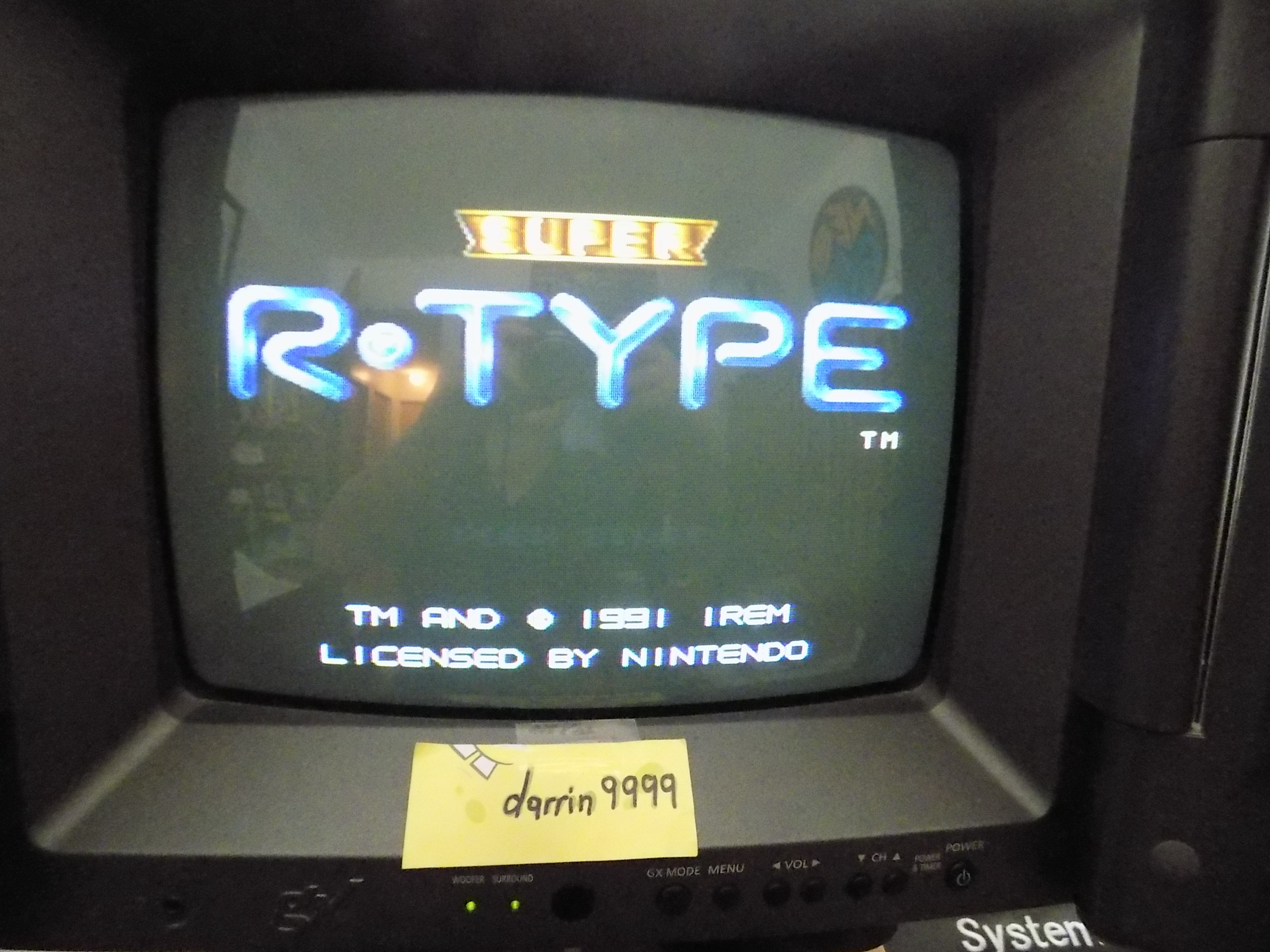 darrin9999: Super R-Type [Easy] (SNES/Super Famicom) 68,100 points on 2019-05-24 15:19:17