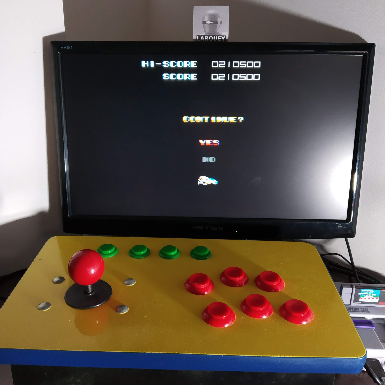 Larquey: Super R-Type [Novice] (SNES/Super Famicom Emulated) 210,500 points on 2020-08-27 14:35:25