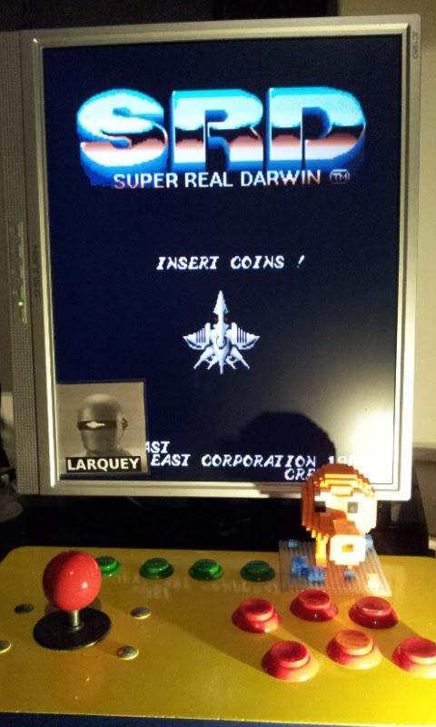 Larquey: Super Real Darwin [World] [srdarwin] (Arcade Emulated / M.A.M.E.) 47,700 points on 2017-02-21 10:53:22