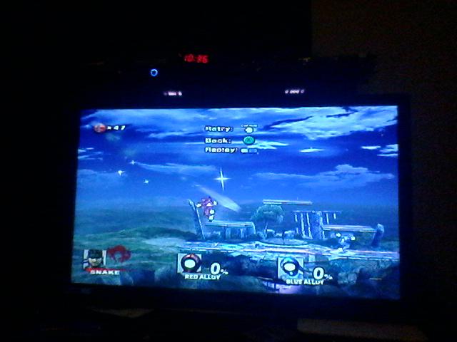 Super Smash Bros. Brawl: Endless Brawl: Snake 47 points