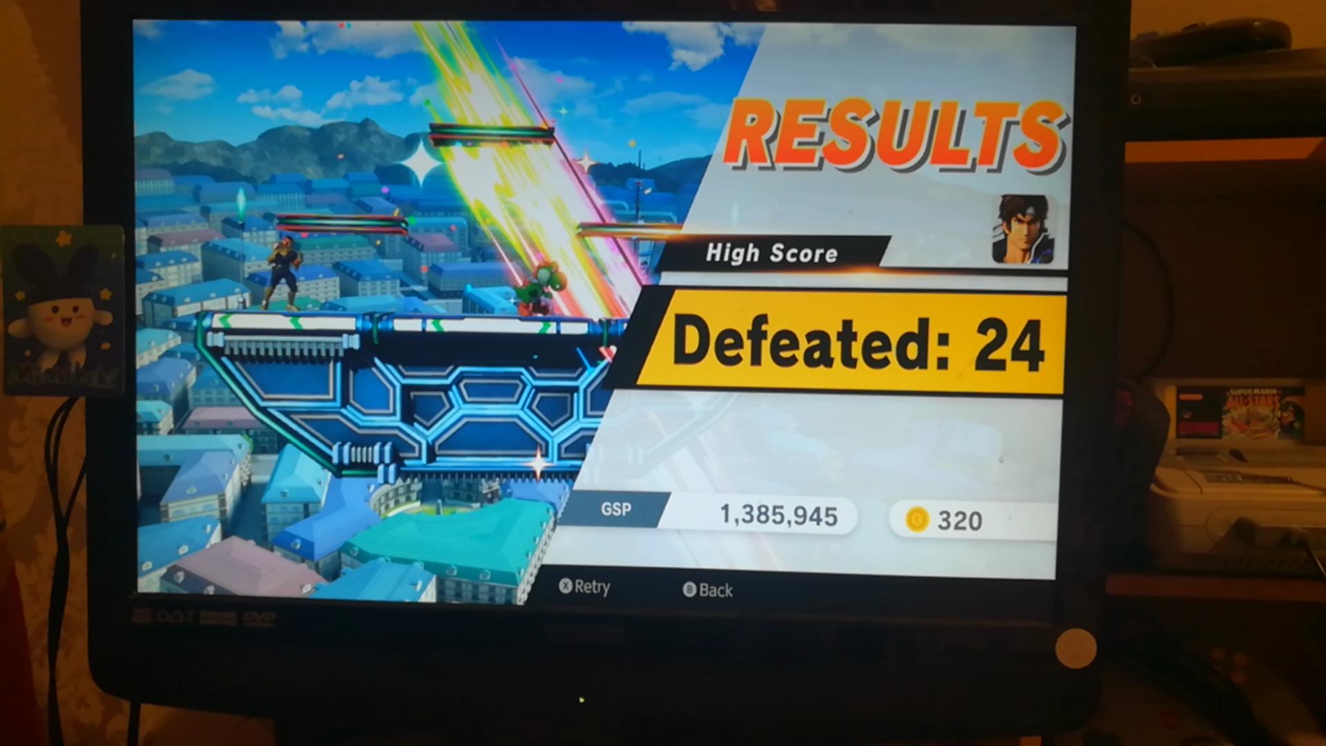 Mimitchi: Super Smash Bros. Ultimate: All-Star Smash: Richter (Nintendo Switch) 24 points on 2020-05-29 08:13:30