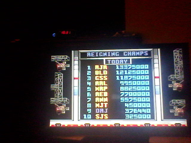 Super Smash TV 376,440 points