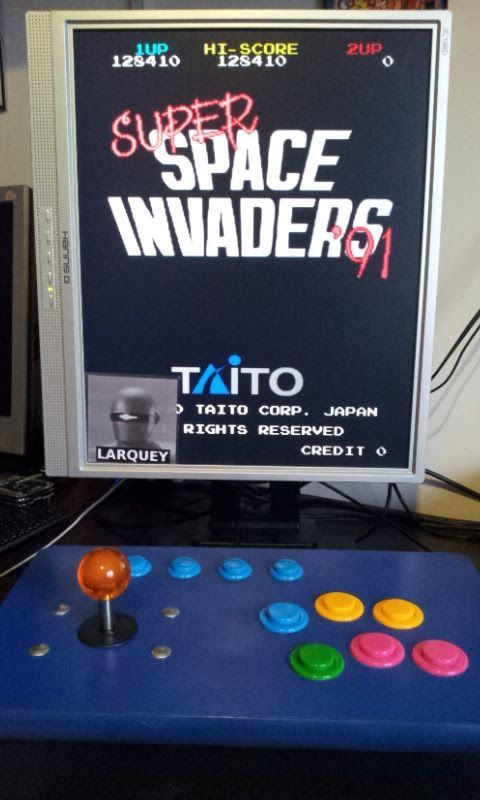 Larquey: Super Space Invaders